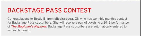 Backstage Pass Contest