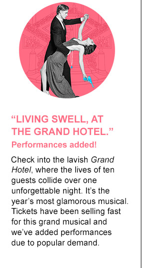 Living Swell, at the Grand Hotel