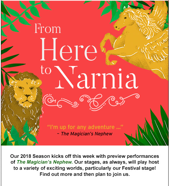 From here to Narnia