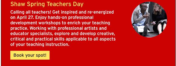 Shaw Spring Teachers Day