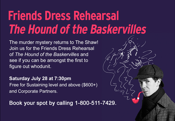 Hound of the Baskervilles – Members section