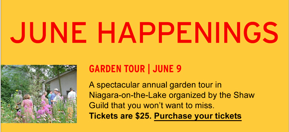 Garden Tour – Purchase your tickets