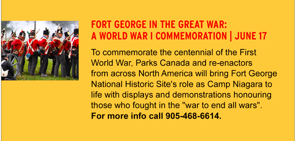 Fort george in the great War