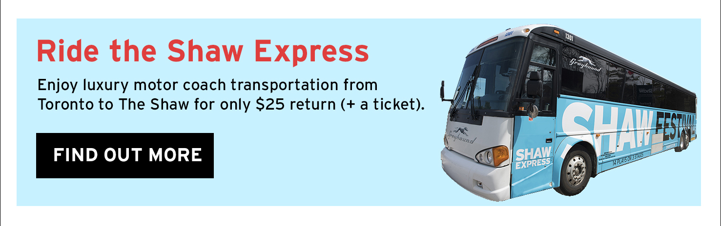 Ride the Shaw Express – Find out More